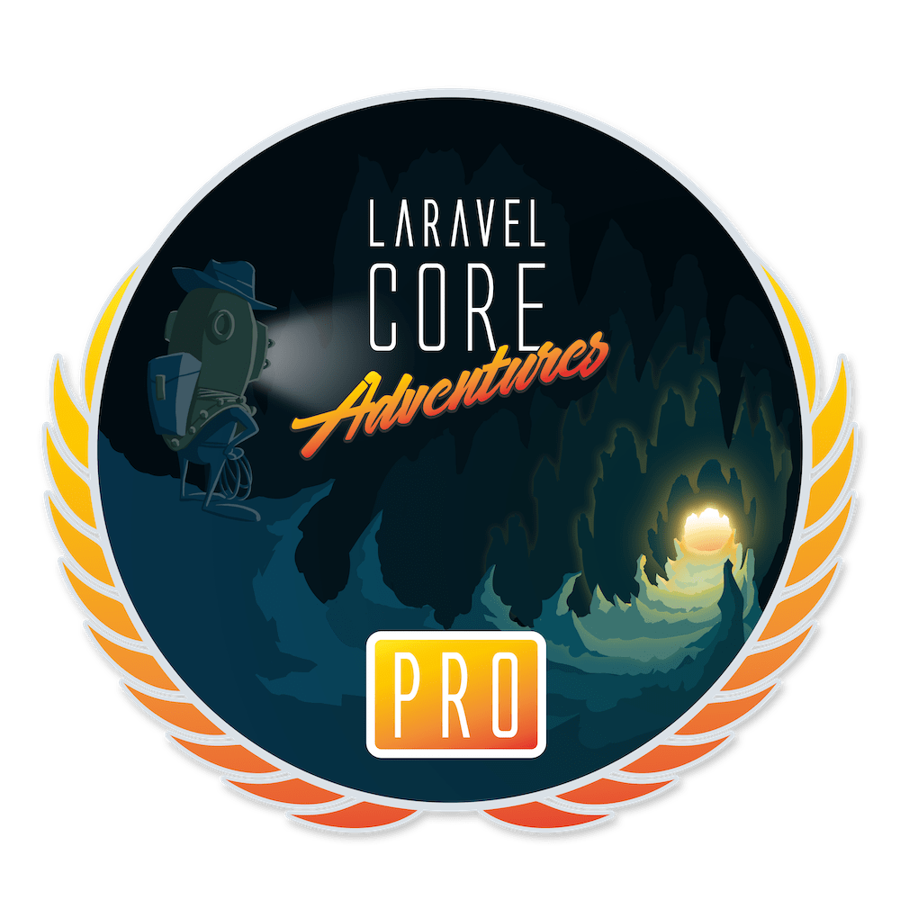 Laravel Core Adventures Logo